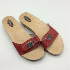 NWT Dr. Scholl's  leather sandals